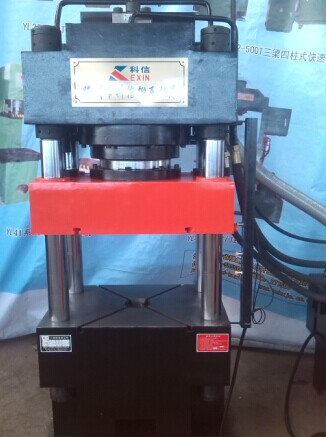 250吨多功能四柱三梁液压机